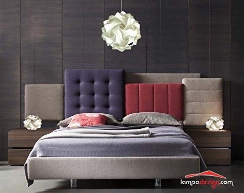 Bellissima e originale lampada da comodino ufo consegnata montata, colore bianco abajour di design per la tua camera da letto