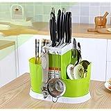 NexusWorld Multi Purpose Spoons, Knife & Other Kitchen Cutlery Storage Holder Stand