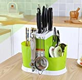 #9: NexusWorld Multi Purpose Spoons, Knife & Other Kitchen Cutlery Storage Holder Stand
