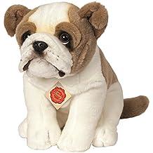 Hermann Teddy Colección 919315 27 cm Inglés Bulldog Sentado de Peluche Juguete