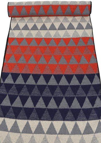 Sakkas IIvy long Mid Poids Patterned Multicolore Doux Pashmina Shawl / Scarf Gris