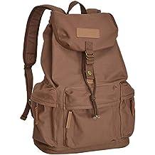 CADeN Canvas Camera Backpack DSLR SLR Camera Bag Travel Vintage Camera Messenger Bag para Canon Sony Nikon