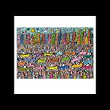 Stick It On Your Wall James Rizzi – Nichts ist so Pretty AS A Rizzi City Mini Poster – 40 x 40 cm