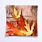 AILIN1 Weich dekorativ Home Literarische kleine frische Leinen Kissenbezug grün Digitaldruck Heim Kissen quadratische Sofa (Größe: 30 cm) für Heimstudien-Bettsofa (Größe : 30cm)
