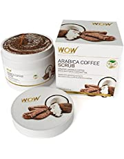 WOW Arabica Coffee No Parabens Mineral Oil Scrub 200mL