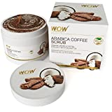 WOW Arabica Coffee Scrub -Organic Arabica Coffee,Shea Butter & Coconut Oil -No Paraben & Mineral Oils