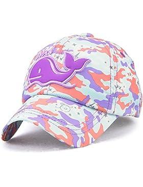 Roffatide Delfino Toppa Camuffamento Cappellino da Baseball Cappello da Sole Estivo Berretti Maglia Regolabile