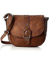 Tamaris Damen Avril Saddle Bag S Umhängetasche, 7x13x21 cm