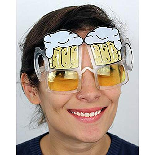 AIBOTY Deutschland Oktoberfest Gläser Accessoires Gläser, Brille Mit Bierkrug-Motiv (Bierkrug Erwachsenen Kostüme)