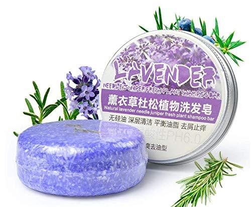 Handgefertigte Seife Bars (5Five Shampoo Pflanzenöl 100% natürlich, handgefertigt, organische Seife Bar Lavender 1)