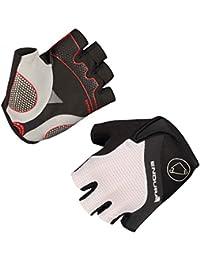 ENDURA - Short Gloves Hyperon, Color Blanco, Talla M