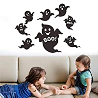 Halloween Decor Wall Decal Horror Ghost Stickers Window Clings Decorations Removable Art Home Festival Decoration Haunted House Party Ornaments