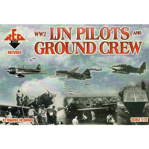 Pilotos WW2 IJN y personal de tierra (1:72)