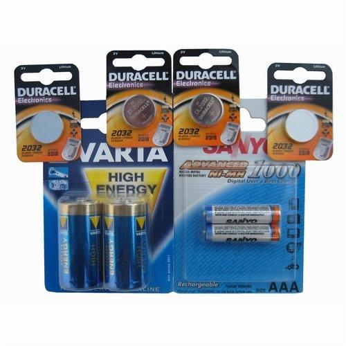 PR41/dA312 duracell blister de 6 v 1,4, piles boutons zinc-air (1,4 v