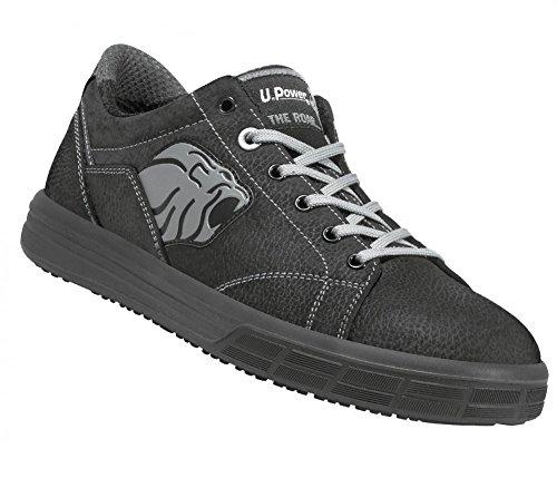 Chaussures de Sécurité Basket Gris - Norme S3 Noir