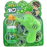 Hreedhan Enterprises Ben 10 Kids Soap Bubble Gun Toy With Soap Bubble Bottle