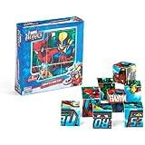 Falomir 646501 - Rompecabezas Marvel 9 Cubos