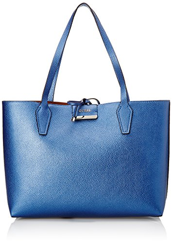 Guess Hwvg6422150, Borsa a Mano Donna, Blu (Blue Cognac), 42.5x27x12.5 cm (W x H x L)