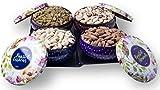 #10: PREMIUM Gift Box - Almonds, Cashews, Pistachios (Roasted) & Raisins - 800g Bowl 4 Tins