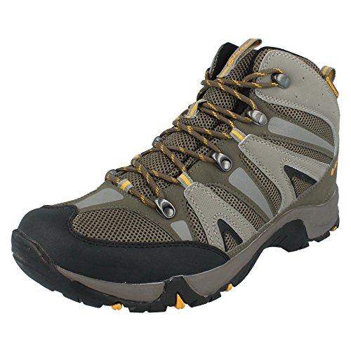 Hi-Tec Sports Condor Wp - Large Sizes, Herren Trekking- & Wanderstiefel Grün (Olive/Warmgrey/Gold)
