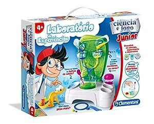 Clementoni - LABORATÓRIO DE EXPERIÊNCIAS KIDS (67279 - Versión Portuguesa)