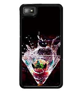 Cocktail Mocktail 2D Hard Polycarbonate Designer Back Case Cover for BlackBerry Z10