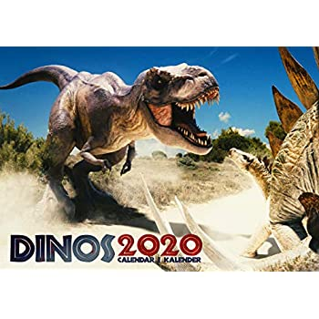 Dinosaures 2020 Calendrier