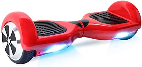 "Windgoo Elektro Scooter, 6.5"" Self Balance Scooter mit 700W Motor, LED, Elektro Skateboard E-Board Hover"