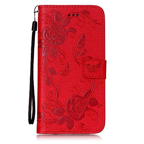 Coque iPhone 7 Plus, Meet de pour Apple iPhone 7 Plus (5,5 Zoll) Folio Case ,Wallet flip étui en cuir / Pouch / Case / Holster / Wallet / Case, Apple iPhone 7 Plus (5,5 Zoll) PU Housse / en cuir Walle C