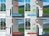 Suntec Mobiles Lokales Klimagerät Transform 14.000 Eco R290 [6 in 1: für Räume bis 180 M³ (~70 M²)*, Indoor/Outdoor Kühlen, Heizen, Uvm. mit Ökologischem Kühlmittel R290, 14.000 BTU/H, EEK A - 5