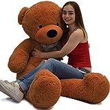VERCART Junge Jungen und Mädchen Baby weißen Teddybären Spielzeug Geschenk 80CM