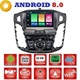 Android 8.0 GPS DVD USB SD Wlan Bluetooth Mirrorlink Autoradio 2 Din NAVI Ford Focus 2011, 2012, 2013, 2014, 2015