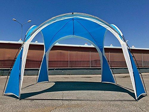 Eurolandia 91735b tenda gazebo agata blu 3.5x3.5x2.3 tenda da