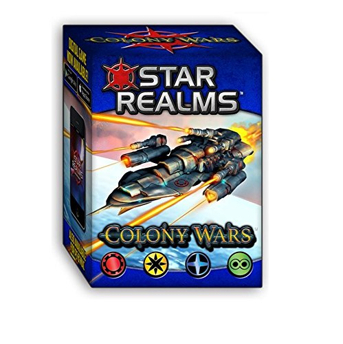Image of White Wizard Games Colony Wars Star Realms Deck Building Game
