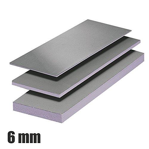 Fliesenplatte 600 x 1300 mm Ausgleichsplatte Fliesenbauplatte Bauplatte 6 mm