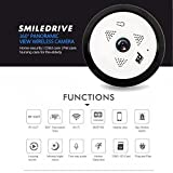 Best Easy@Home Baby Monitors - Smiledrive Panoramic 360 Degree Wifi CCTV Wireless Security Review