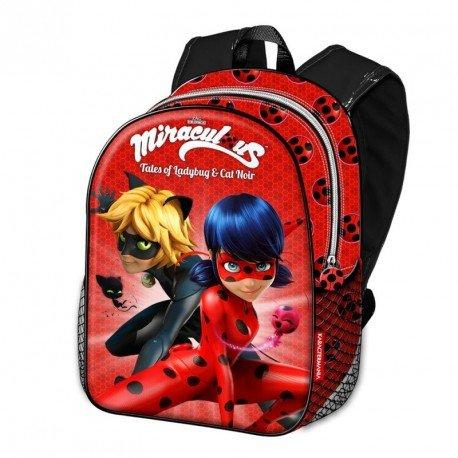 *Ladybug Defenders Sac à dos enfants, 40 cm, Rouge (Rojo) Meilleure offre de prix