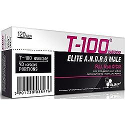 OLIMP T-100 Hardcore Nahrungsergänzungsmittel, 120 Kapseln
