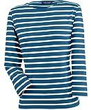 Saint James Galathée - Streifenshirt - Bretagne-Shirts Marine/Ecru (42)