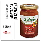 MOSTARDA di Cremona con Frutta mista Boschetti (Senffrüchte) 1 Stück à 400 gr
