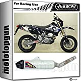 ARROW Auspuff Race Off-Road V2 Aluminium CARBY Suzuki DR-Z 400 SM 2007 07 72005TAK