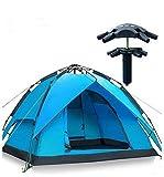 Automatisches hydraulisches wasserdichtes Zelt für 2-3 Personen, Pop-up, baut sich selbst auf, für Camping und den Außenbereich geeignet