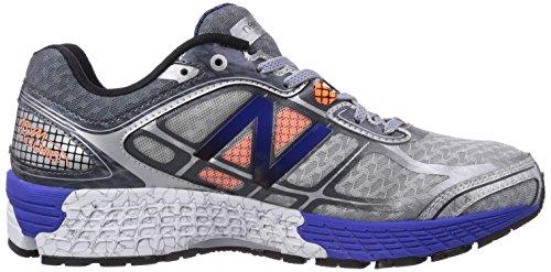 New Balance M860 D V5, Chaussures de running homme Argent (Sb5 Silver/Blue)