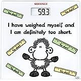 Soehnle 63836 Digitale Personenwaage Sheepworld Too Short