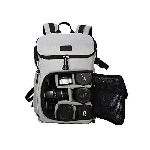 DSLR Kamera Rucksack Oxford groß Kapazität vorne offen Wasserdicht Stoßdämpfung SLR/DSLR Kamera Rucksack Kamera Reisetasche Professionelle Kamera Tasche