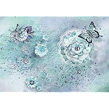 Suchergebnis Auf Amazonde Für Wandbild Blumen Und Schmetterlinge