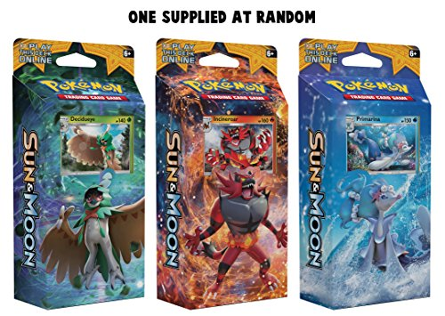 Pokémon sole e luna theme deck–one at random