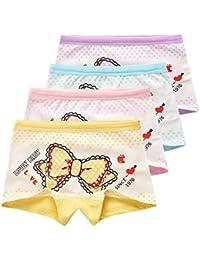 USex Sense Lot de 12 -Panty- Les filles Shorty Culotte Sous-vêtements 2-12 ans