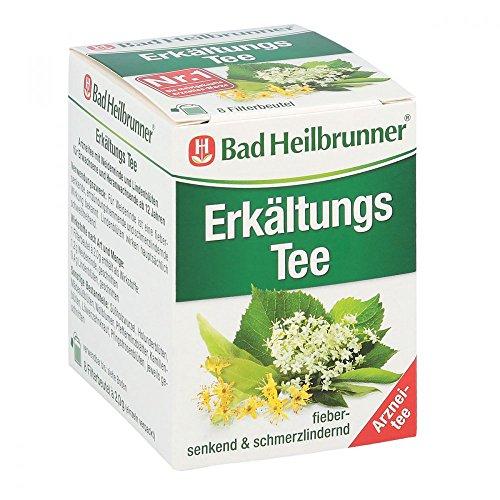 BAD HEILBRUNNER Erkältungstee N Filterbeutel 8 St Filterbeutel