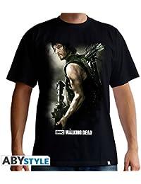THE WALKING DEAD Tshirt Daryl Arbalète homme black